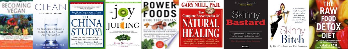 10 HEALTHY BOOKS